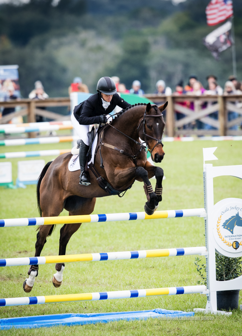 Erin Sylvester and Campground win the CCI4-L at the 2019 Ocala Jockey Club International 3-Day Event