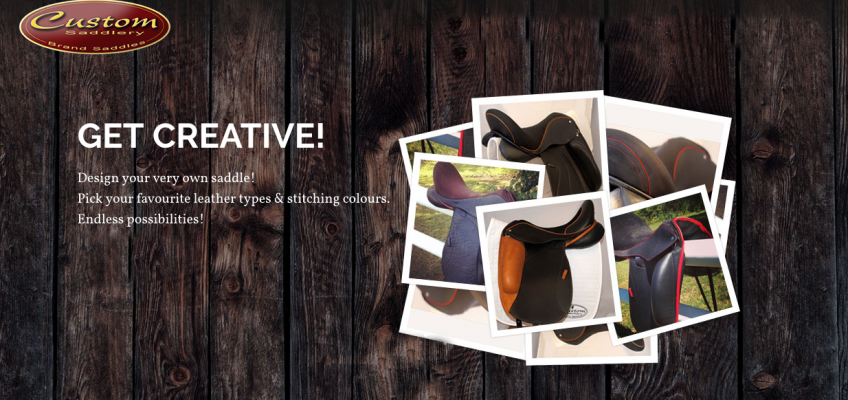 Get Creative with Custom Saddlery
