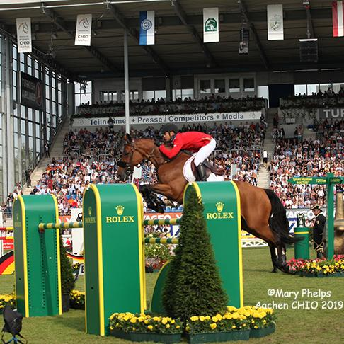Kent Farrington and Gazelle at Aachen 2019