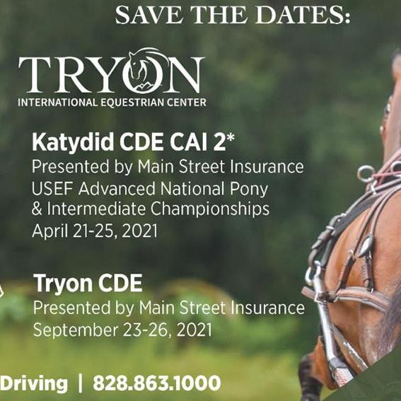Katydid CDE at Tryon