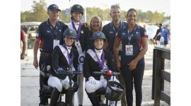 Top from left to right: Kai Handt, Kate Shoemaker, Laureen Johnson, Michele Assouline. Bottom from left to right: Rebecca Hart, Roxanne Trunnell, Andrea Woodard.